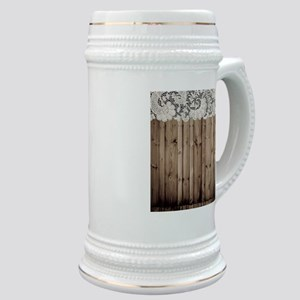 barnwood white lace country Stein