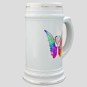 Angel Wings Heart Stein