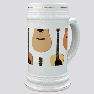Acoustic Guitars Pattern Stein