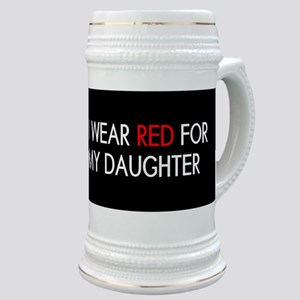 Red Ribbon: Red for my Daughter Stein