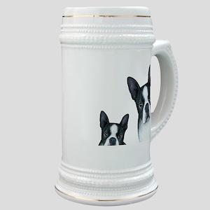 Dog 128 Boston Terrier Stein