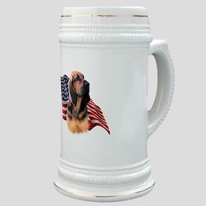Bloodhound Flag Stein
