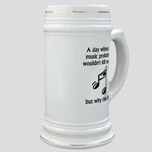 A Day Without Music Stein