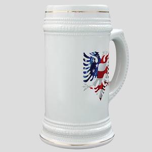 Albanian American Eagle Stein