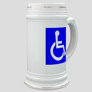 Handicap Sign Stein
