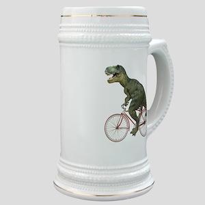 Cycling Tyrannosaurus Rex Stein