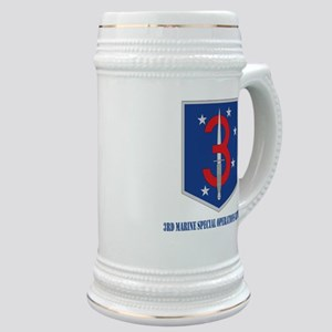 3d Marine Special Operations Bn with Text Stein