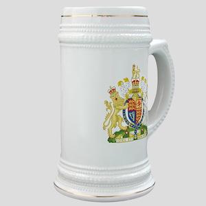 United Kingdom Coat Of Arms Stein