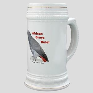 African Greys Rule Stein