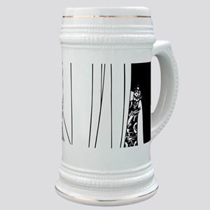 1920s vintage flappers black white drawing Stein