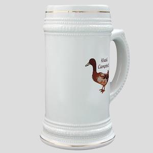 Khaki Campbell Duck Stein