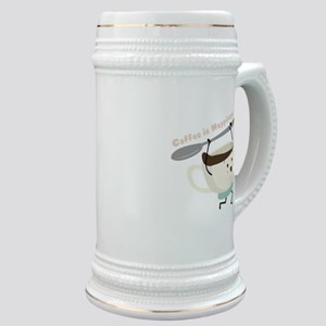 Coffee Is Happiness Stein