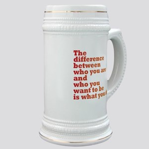 The Difference (red/orange) Stein