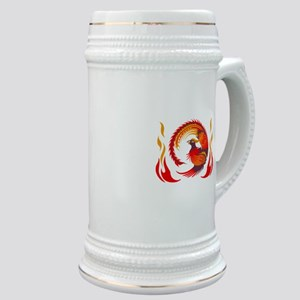 PHOENIX RISING FROM FLAMES Stein