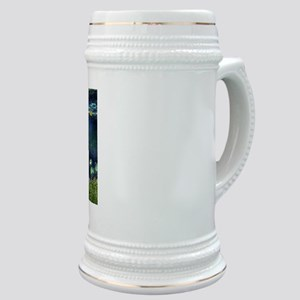 Jack Russell & Lilies Stein