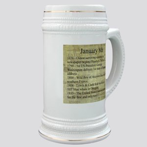 January 8th Stein