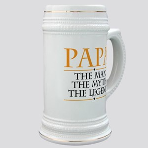 Papa Man Myth Legend Stein