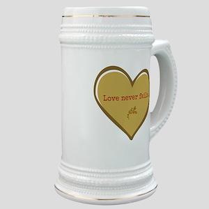 Love never fails Stein