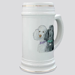 Two Poodles Stein