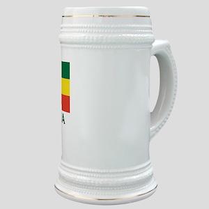 Ethiopia Flag Merchandise Stein