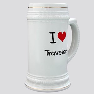 I love Travelers Stein