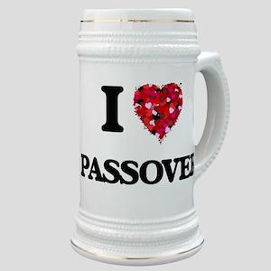 I Love Passover Stein