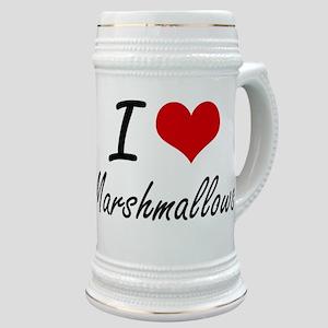 I Love Marshmallows Stein