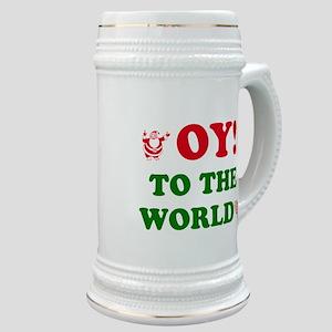 Oy to the World Stein