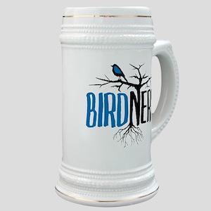 Bird Nerd Stein