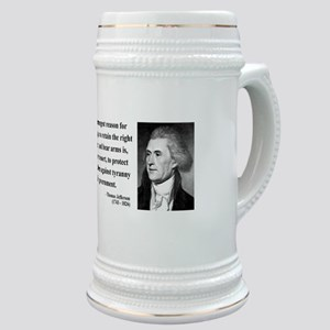 Thomas Jefferson 7 Stein