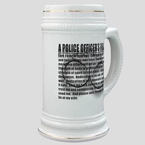 A POLICE OFFICER'S PRAYER Stein