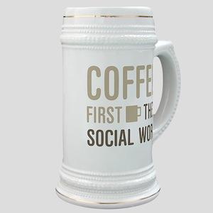 Coffee Then Social Work Stein
