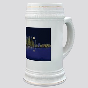 Reflection of city Stein