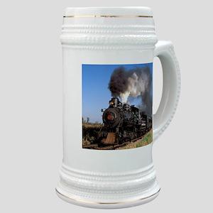 Antique steam engine train Stein