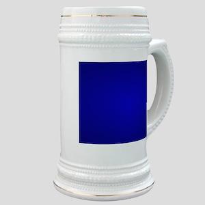 Minimal Art Dark Blue Stein