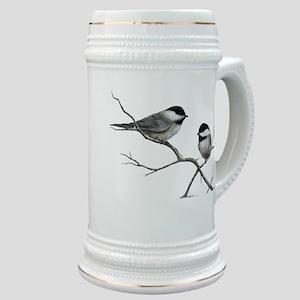 chickadee song bird Stein