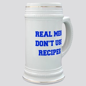 real-men-dont-use-recipes fresh blue Stein