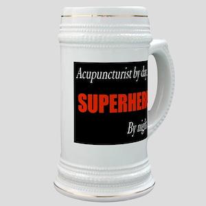 Superhero Acupuncturist Gift Stein
