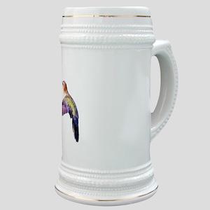 Hummingbird in flight Stein