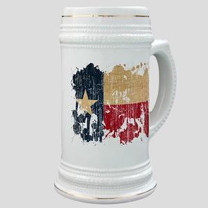 Texas Flag Stein