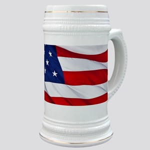 United States Flag in All Her Glory Stein