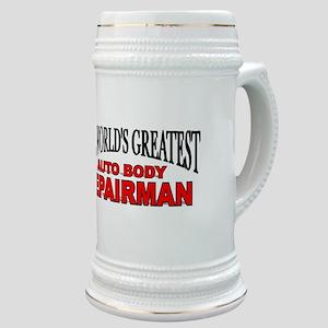 """The World's Greatest Auto Body Repairman"" Stein"