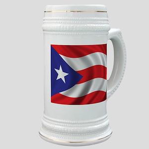 Flag of Puerto Rico Stein