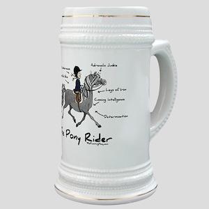 Pony Rider Equestrian Stein