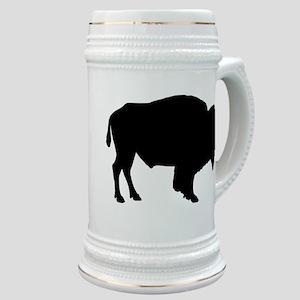Buffalo Silhouette Stein