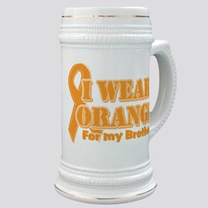I wear orange brother Stein