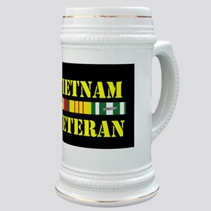 Vietnam Veteran Stickers Stein