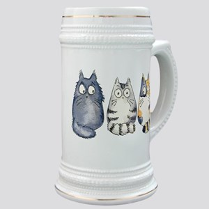 Three 3 Cats Stein
