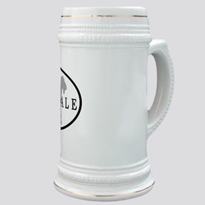 Airedale Terrier Oval #3 Stein