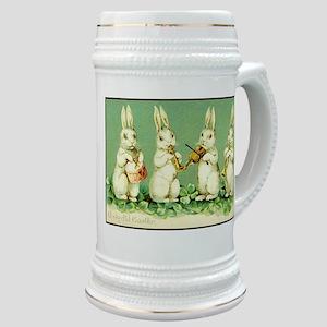 Vintage Musical Easter Bunnies Stein